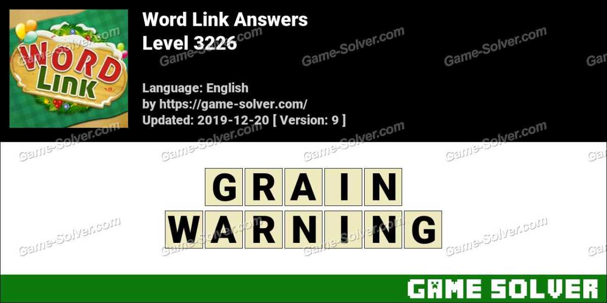 Word Link Level 3226 Answers