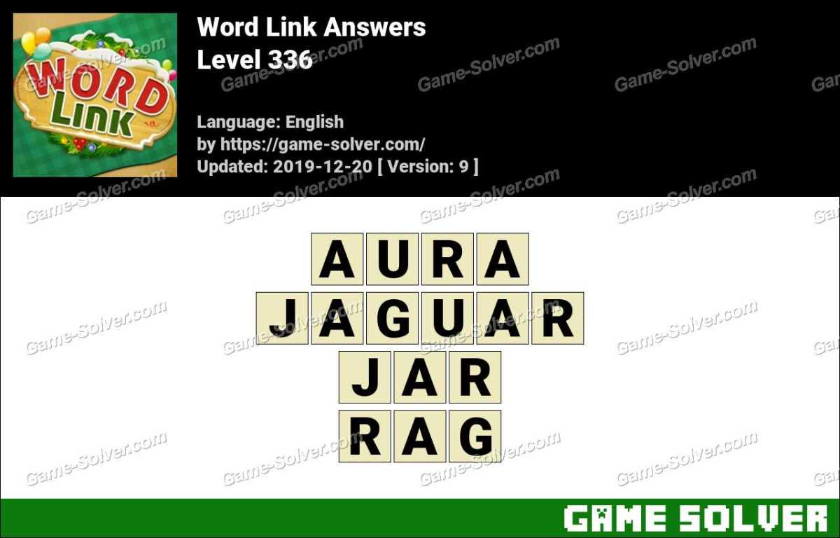 Word Link Level 336 Answers