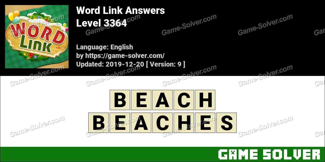 Word Link Level 3364 Answers