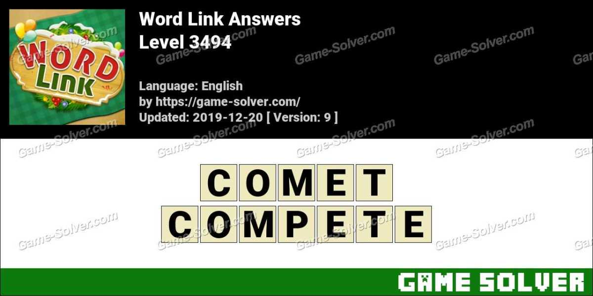 Word Link Level 3494 Answers