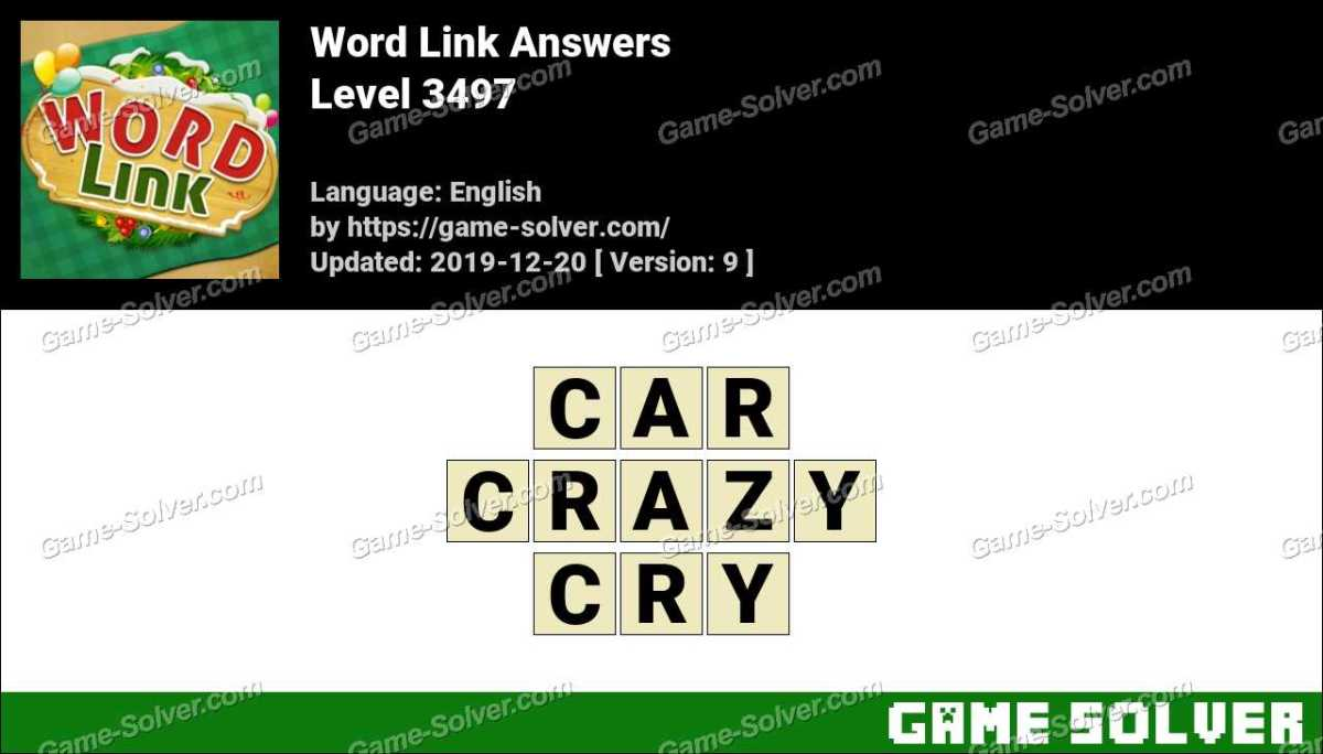 Word Link Level 3497 Answers
