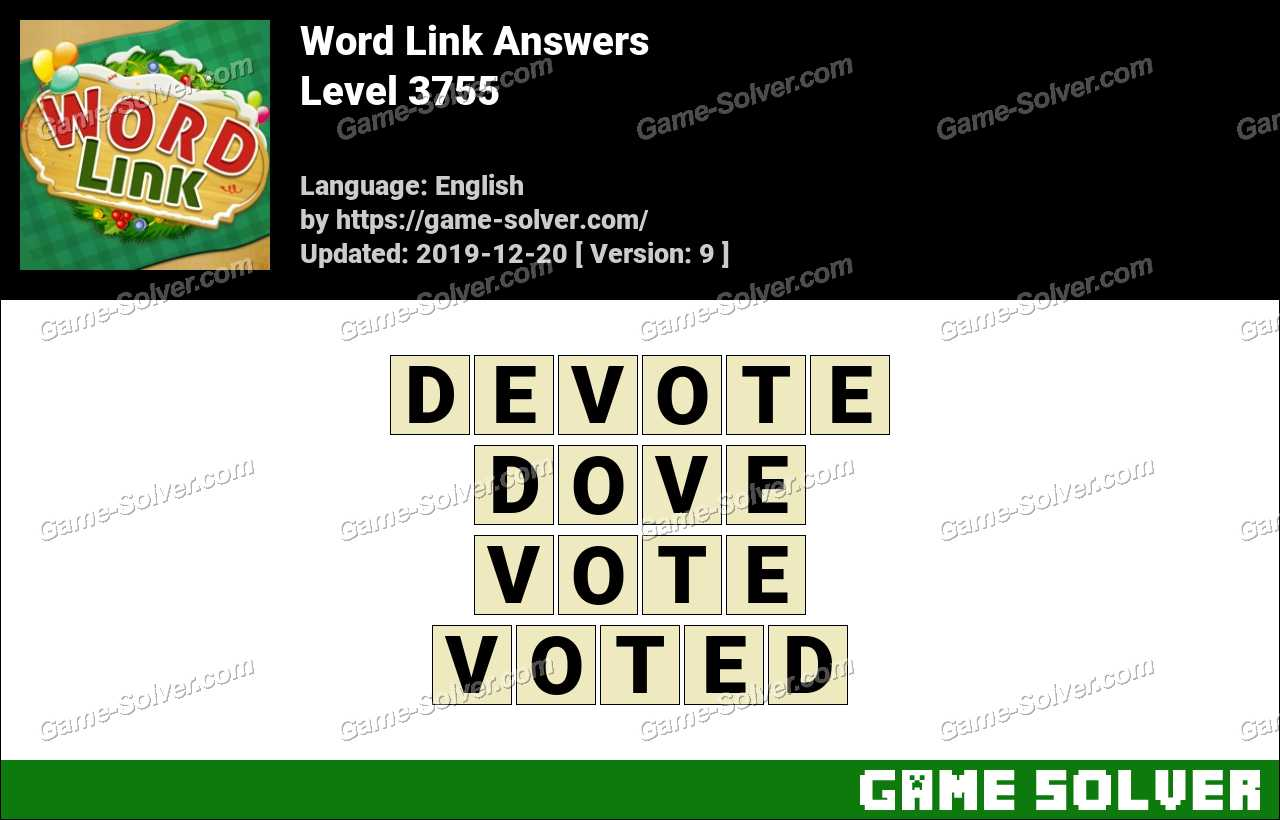 Word Link Level 3755 Answers