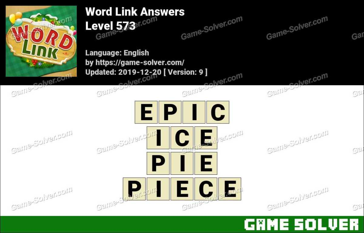 Word Link Level 573 Answers