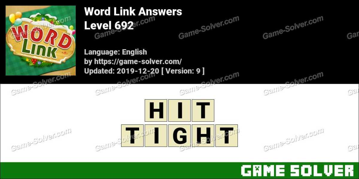 Word Link Level 692 Answers