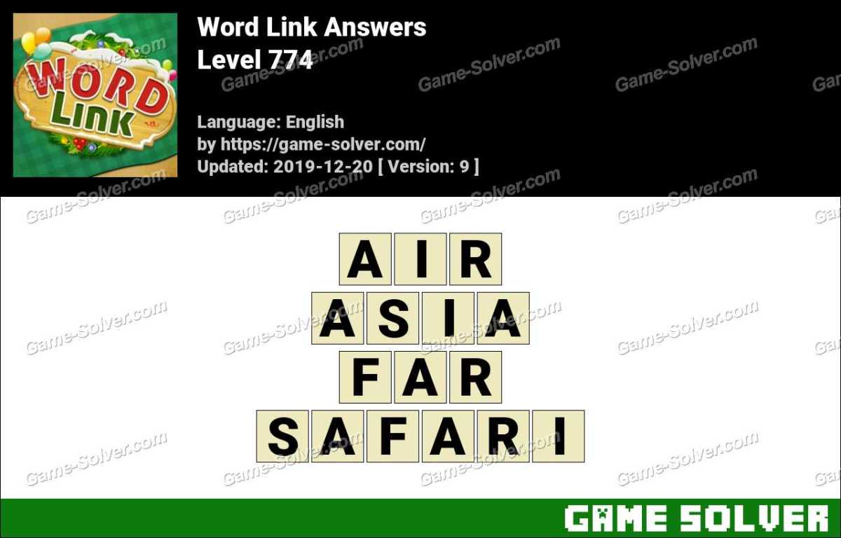 Word Link Level 774 Answers