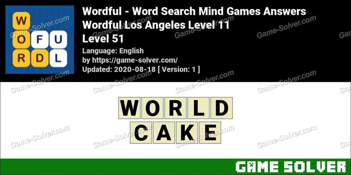 Wordful Los Angeles Level 11 Answers