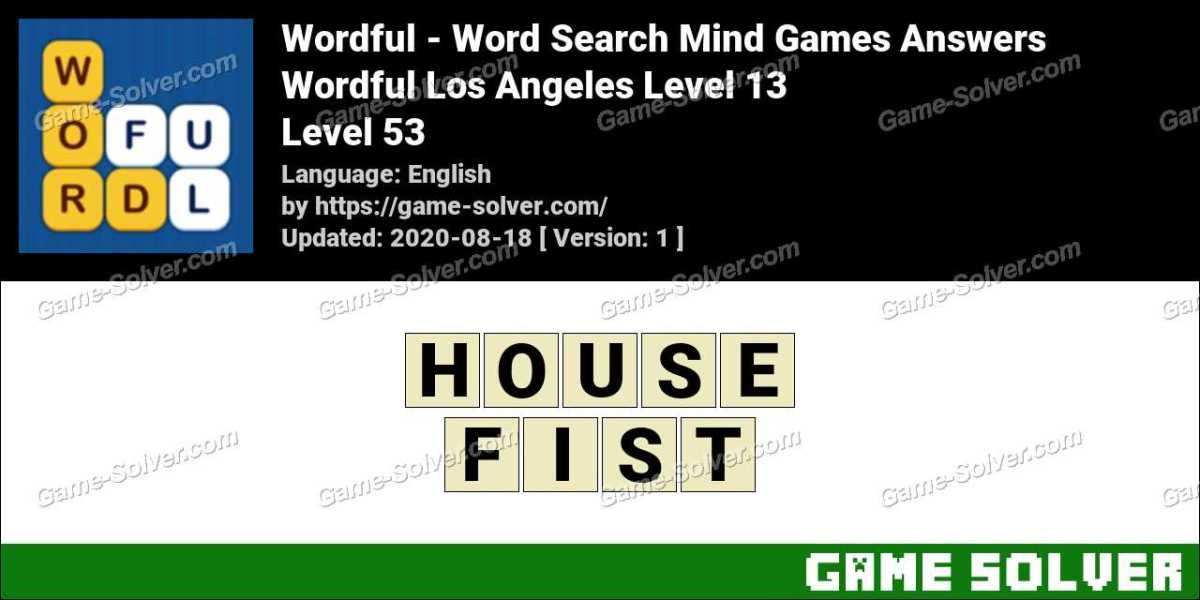 Wordful Los Angeles Level 13 Answers
