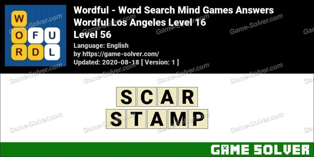 Wordful Los Angeles Level 16 Answers