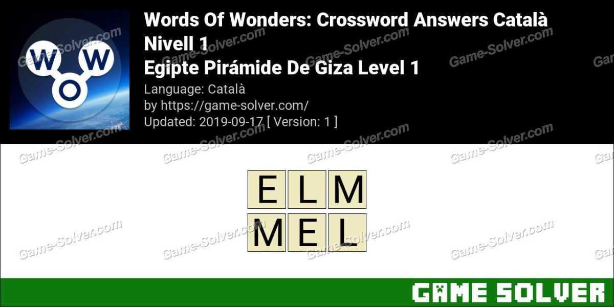 Words Of Wonders Egipte Pirámide De Giza Level 1 Answers