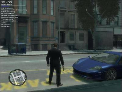 GTA IV - Simple Native Trainer v3.9 - Grand Theft Auto IV Mods. Maps. Patches & News - GameFront