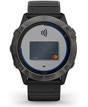 fēnix 6X Pro & Sapphire med Garmin Pay-skjermbilde