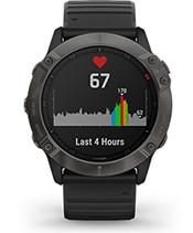 fēnix 6X Pro Solar con la pantalla de frecuencia cardiaca