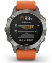 fēnix 6 Pro & Sapphire with pulse ox sensor screen