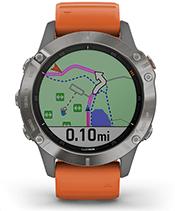 fēnix 6 Pro & Sapphire with navigation screen