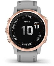 fēnix 6S Pro & Sapphire with expedition mode screen