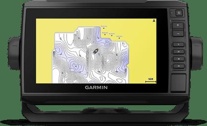 ECHOMAP UHD 75cv with QuickDraw screen