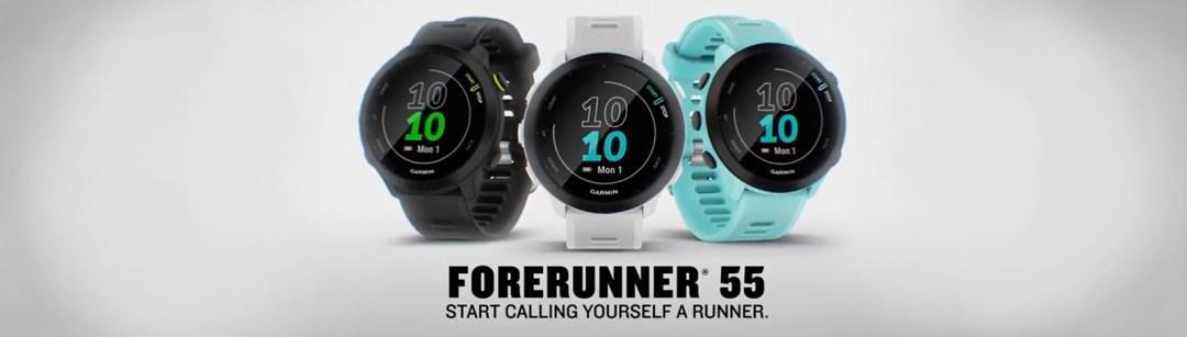 Forerunner 55 Start Calling Yourself A Runner