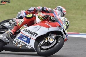 Andrea Iannone, Andrea Dovizioso - © Ducati