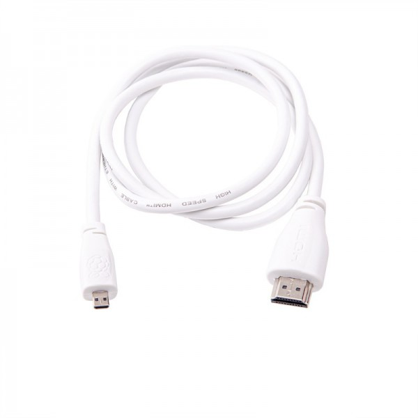Raspberry Pi Micro-HDMI to Standard HDMI 1 m Official Cable