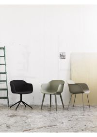 Fiber Chair - Swivel Base - Chair - Muuto