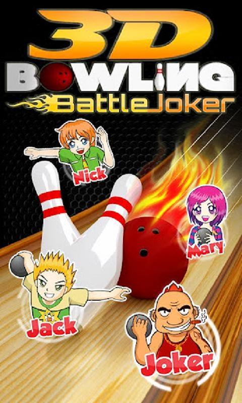 Free 3D Bowling Battle Joker Games FREE APK Download For