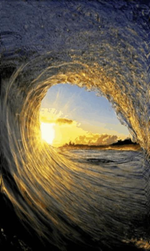 Free Ocean Wave Surf Live Wallpaper APK Download For