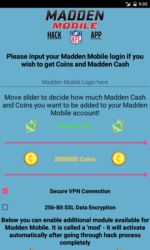 free madden mobile hack