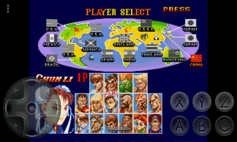 Free Super Street Fighter 2 The New Challengers SEGA APK