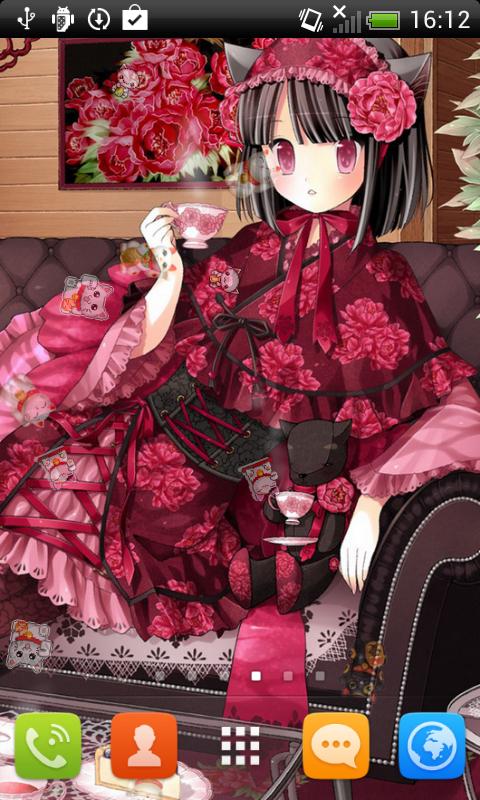Cat Girl Anime Live Wallpaper Apk Free Anime Neko Girls Live Wallpaper Apk Download For