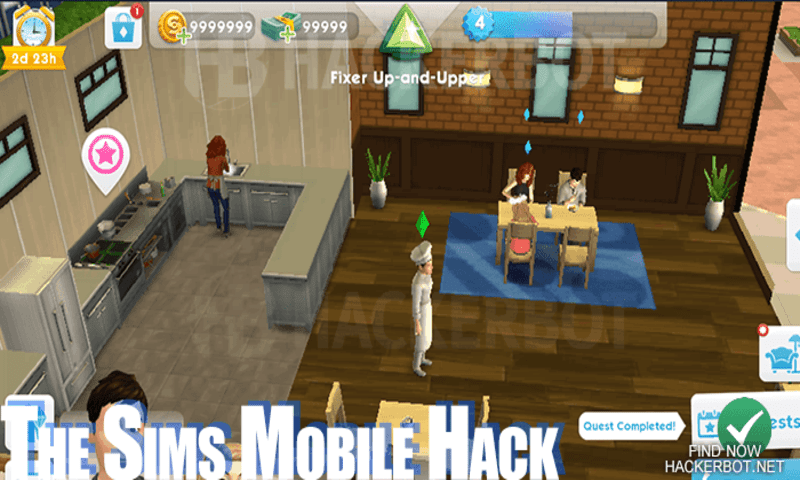 free the sims mobile