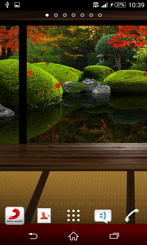 Zen Garden Fall Live Wallpaper Full Version Free Live Wallpaper Zen Garden Apk Download For Android