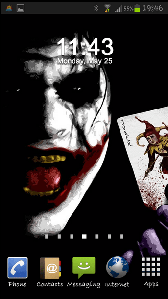 3d Car Wallpaper Apk Free Joker Wallpaper Why So Serious Apk Download For