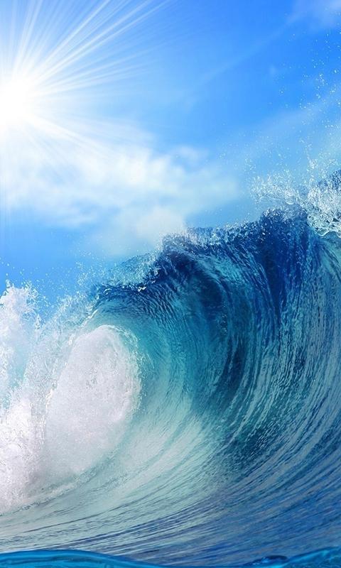 Funny Android Wallpaper Hd Free Amazing Sea Big Waves Views Hd Wallpaper Apk Download