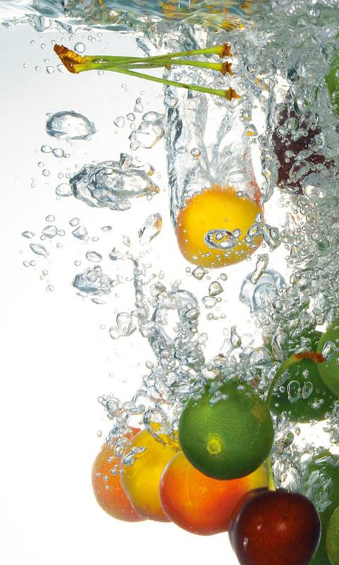Falling Fruit Live Wallpaper Apk Free Best Fruits In Water Live Wallpaper Apk Download For