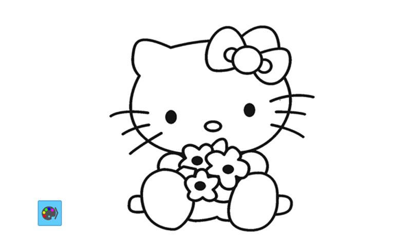 Free Hello Kitty Painting Game APK Download For Android