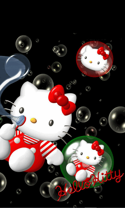 Free Fall Wallpaper Apps Free Hello Kitty Cute 3d Wallpaper Apk Download For