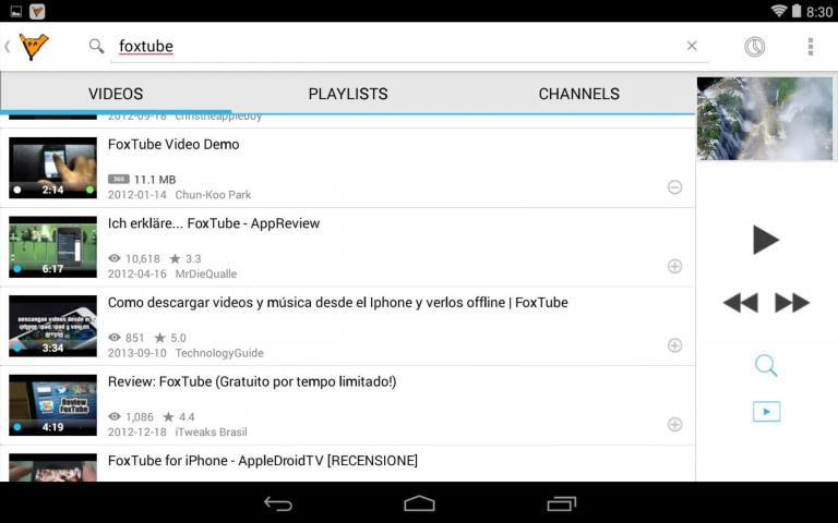 Free FoxTube YouTube Player Perfect APK Download For Android GetJar
