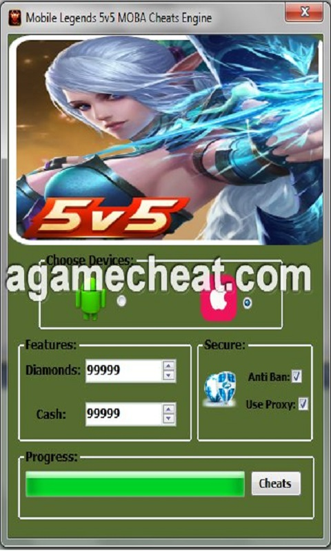 Cara Cheat Diamond Free Fire : cheat, diamond, Legendshack.club, Mobile, Legends, Generator, Diamonds