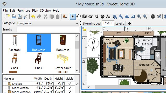 Jan 10, 2019· sweet home 3d lets you also import libraries of 3d models stored in sh3f files. Sweet Home 3d Download
