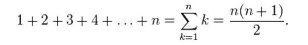 Dieses Bild hat ein leeres Alt-Attribut. Der Dateiname ist Gau%C3%9Fsche-Summenformel-Beispiel.jpg