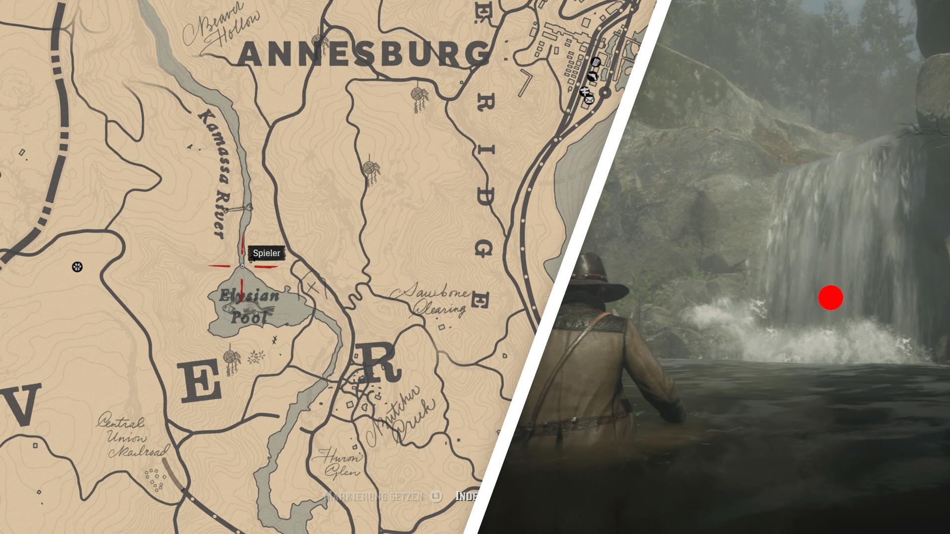 Red Dead Redemption 2 Ganze Karte.Giftpfadkarte 1 Red Dead Redemption 2