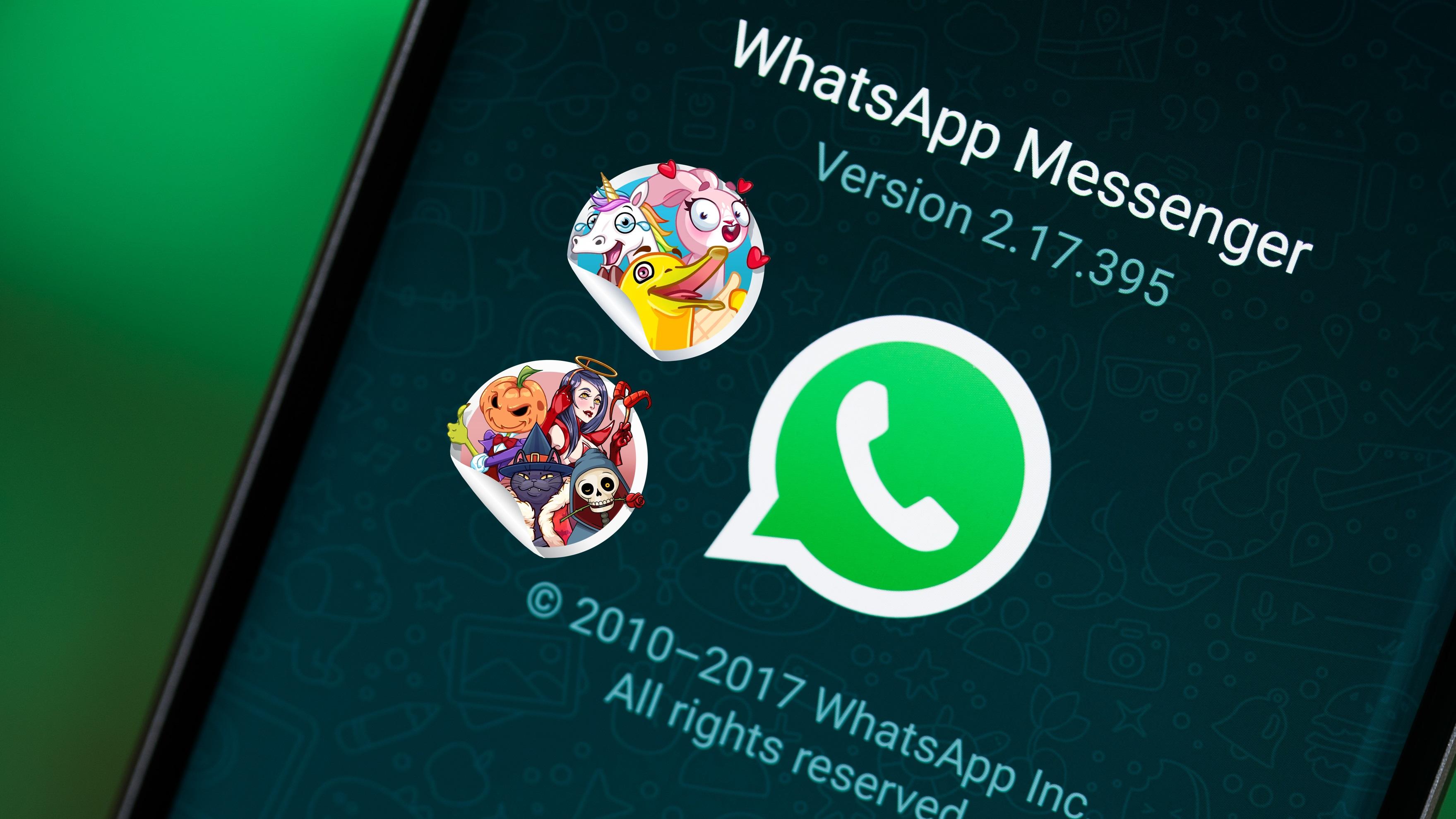 kostenlose whatsapp sticker zum