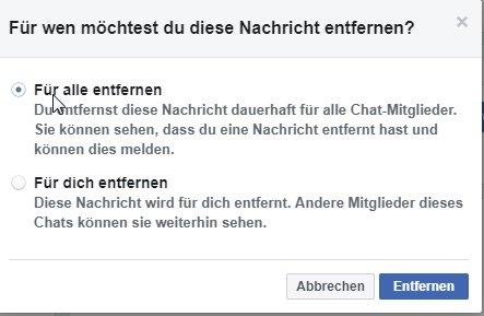 facebook-message-Delete