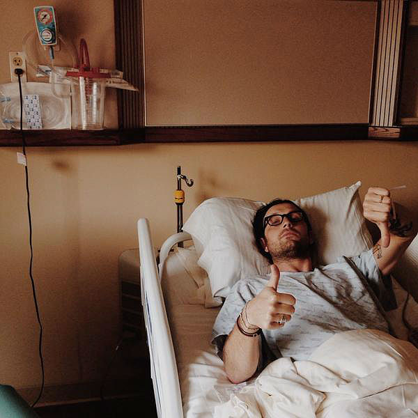 Nathan Followill tweets update from hospital following bus crash