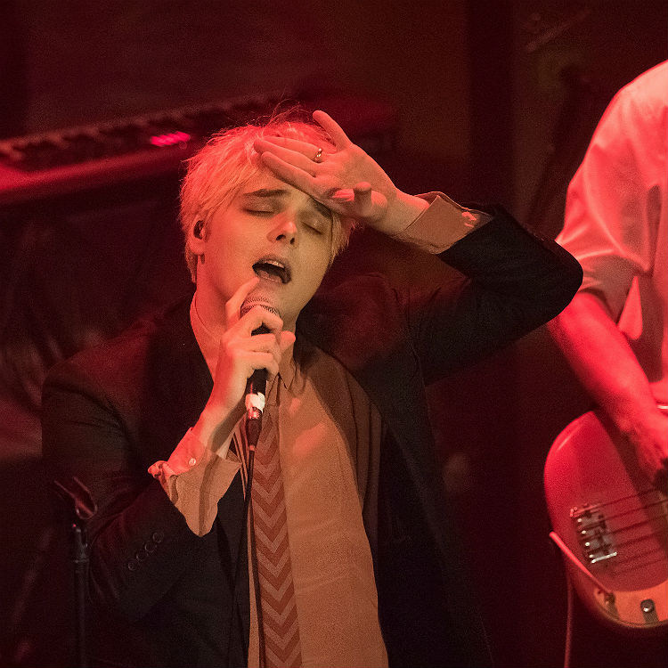 Gerard Way Brixton Academy 23012015 Gigwise