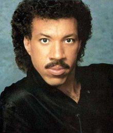 Lionel Ritchie moustache Let's Not Get Carried Away