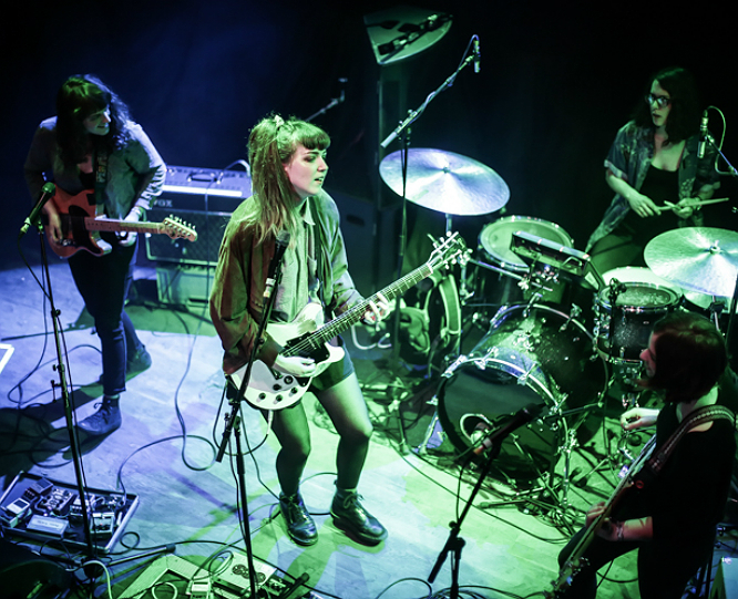 The Big Moon: Formally The Moon, The Big Moon's name-change came just at the right time. Their sweet and sour songwriting and wired instrumentals throwback to Runaways style rebellion but with a distinctly London bite.