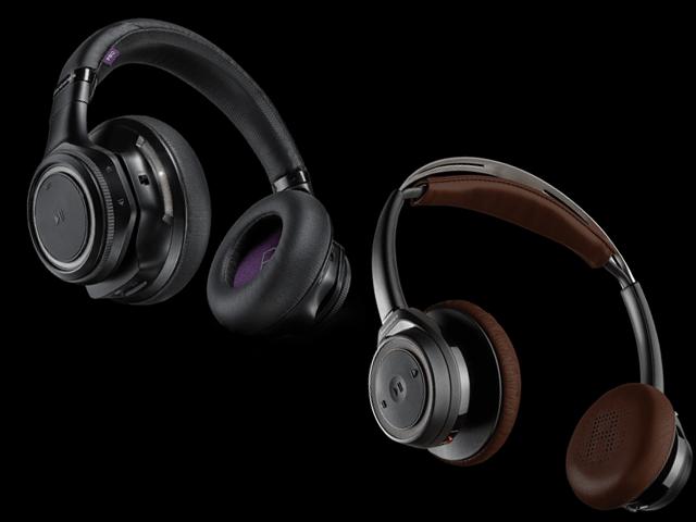 O BackBeat Pro (esq) promete 24 horas de música enquanto o modelo Sense (dir) até 18 horas ininterruptas. || Créditos: Divulgação