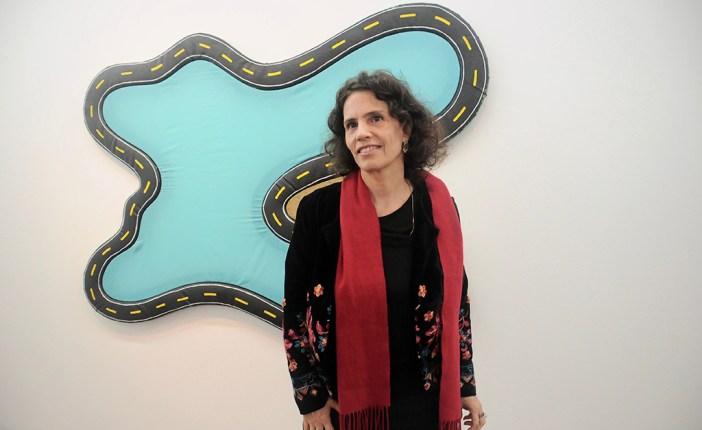 Leda Catunda é a artista convidada do Projeto Parede, no MAM