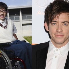 Wheelchair Glee Ikea Table And Chair Set The Cast Of Where Are They Now Page 8 35 Gloriousa Kevin Mchale